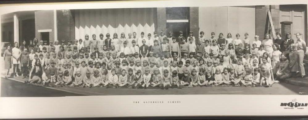 historic photo of The Gatehouse School